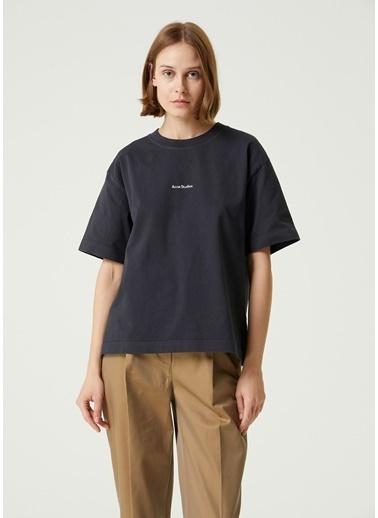 Acne Studios Polo Yaka T-shirt Siyah